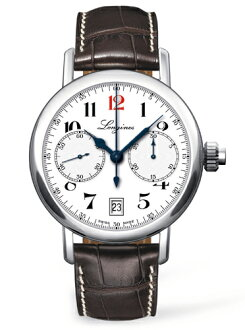 "LONGINES L2.775.4.23.3 ""The 180th Anniversary Watch and The Longines Column-wheel Single Push-Piece Chronograph"""