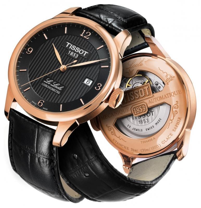 Achat Tissot Le Locle Automatic COSC ou Chronograph T006_408_36_057_00