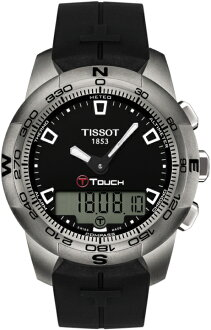 "TISSOT T047.420.47.051.00 ""TOUCH COLLECTION T-TOUCH II Titanium"""
