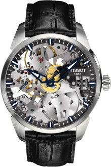 TISSOT T070.405.16.411.00 T-COMPLICATION SQUELETTE Tissot 160 anniversary commemorative model