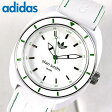 アディダス adidas originals 腕時計時計 スタンスミス stan smith ADH2931 ホワイト×グリーン 白 メンズ 腕時計 海外モデル夏物 誕生日 ギフト P01Jul16