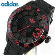 スーパーセール アディダス adidas 腕時計 NEWBURGH ニューバーグ メンズ 腕時計 時計 カジュアル スポーツ ブランド ADH2965 海外モデル 日付 カレンダー ブラック レッド 黒 赤クリスマス 誕生日 ギフト 楽天カード分割