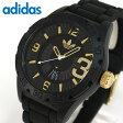 ★送料無料 adidas アディダス NEWBURGH ニューバーグ ADH3011 海外モデル メンズ 腕時計 ウォッチ カジュアル 黒 ブラック 金 ゴールド夏物 誕生日 ギフト