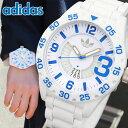 アディダス adidas ニューバーグ 時計 メンズ 腕時計 ADH3012 ホワイト ブルー