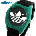 adidas アディダス SANTIAGO サンティアゴ ADH3109 海外モデル メンズ 腕時計 ウォッチ グリーン ブラック 緑 黒クリスマス 誕生日 ギフト