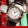 ◆Alessandra Olla アレッサンドラオーラ ピンクゴールド アレサンドラオーラ AO-2650-1 AO2650レディース腕時計パヴェハートインデックス選べる10カラー!