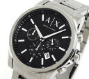 ★送料無料 ARMANI EXCHANGE アルマーニ・エクスチェンジ AX2084 メンズ腕時計 watch メタル バンド クロノグラフ 誕生日 ギフト