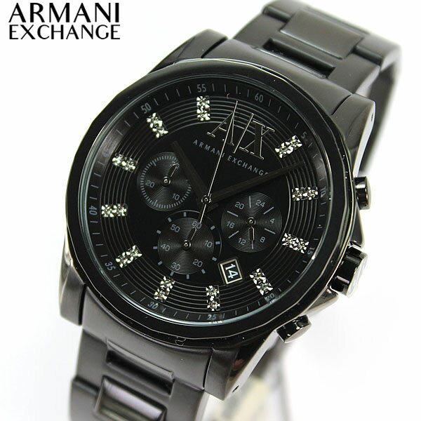★送料無料 AX2093 ARMANI EXCHANGE アルマーニエクスチェンジ Withクリスタルマーカー メンズ 腕時計 時計 watch クロノグラフ秋 コーデ 誕生日 ギフト 0824楽天カード分割