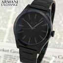 【送料無料】 ARMANI EXCHANGE アルマーニ エクスチェンジ AX2322 メンズ 腕時計 メタル 黒 ブラック 誕生日プレゼント 男性 ギフト 海外モデル