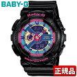 CASIO カシオ Baby-G ベビーG BA-112-1AJF ボーイッシュモデル ブラック 黒 レディース 腕時計 時計国内正規品 アナログ クオーツ夏物 誕生日 ギフト