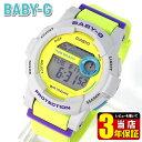 ★送料無料 商品到着後レビューを書いて3年保証 CASIO カシオ Baby-G ベビーG ベイビージー BGD-180-3 G-LIDEG Gライド レディース 腕時計 時計 イエロー 黄緑 黄色系