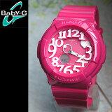 CASIO カシオ Baby-G ベビーG レディース 腕時計 新品 女性用 時計 ウォッチ BGA-130-4B ピンク ネオンイルミネーター ネオンダイアル Neon Dial