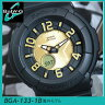 CASIO カシオ Baby-G ベビーG ベイビージー アナログ レディース 腕時計時計 BGA-133-1B 黒 ブラック 海外モデル Neon Dial Seriesネオンダイアル【BABYG】