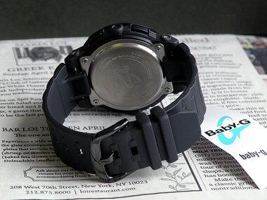 【CASIO】カシオ【Baby-G】ベビーGBGA-153-1B海外モデルブラック×ゴールドアナデジモデルレディース腕時計女性用時計ウォッチ【楽ギフ_包装】