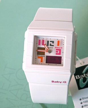CASIOカシオBaby-GベビーGレディース腕時計時計BGA-200PD-7BPOPPINGDIALポッピングダイアル白ホワイト【あす楽対応】【あす楽_土曜営業】【RCP】