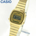 ★送料無料 CASIO チープカシオ チプカシ スタンダード LA-670WGA-9 LA670WGA-9 海外モデル レディース 腕時計 デジタル ゴールド 金