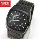 DIESEL ディーゼルメタル ブラック IP 黒 DZ1586 SCALPED メンズ 腕時計 時計 アナログ カジュアル DIESEL ディーゼル 海外モデル父の日 ギフト