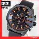 ★送料無料 DZ4291 DIESEL ディーゼル レザーバンド ベルト 海外モデル メンズ腕時計 watchクロノグラフ 時計