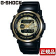 CASIO カシオ Gショック G-SHOCK ジーショック メンズ 腕時計時計 多機能 防水 Gスパイク ブラック×ゴールド 黒 G-300G-9AJF 国内正規品夏物 誕生日 ギフト