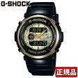 CASIO カシオ Gショック G-SHOCK ジーショック メンズ 腕時計時計 多機能 防水 Gスパイク G-spike ブラック×ゴールド 黒 G-300G-9AJF 国内正規品スポーツ 誕生日 ギフト 0824楽天カード分割