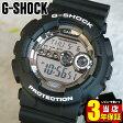 BOX訳あり 商品到着後レビューを書いて3年保証 CASIO カシオ Gショック ジーショック gshock G-SHOCK GD-100BW-1海外モデル 腕時計 メンズ 時計 多機能 防水 カジュアル ウォッチ デジタル G-SHOCK Gショック ジーショック ブラック 黒