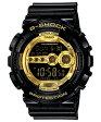 ★送料無料 CASIO カシオ G-SHOCK Gショック ジーショック GD-100GB-1JF 国内正規品 Black×Gold Series ブラック×ゴールドシリーズ メンズ 腕時計 時計 G-SHOCK Gショック ジーショック父の日 ギフト