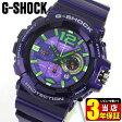 商品到着後レビューを書いて3年保証 CASIO カシオ G-SHOCK Gショック ジーショック メンズ 腕時計 時計 GAC-110-6A 海外モデル G-SHOCK Gショック ジーショック 紫 パープル アナログ夏物 誕生日 ギフト