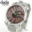 ★送料無料 GAGA MILANO ガガミラノ MANUALE SLIM マヌアーレ スリム 5080-4 5080.4 46mm 海外モデル メンズ 腕時計 ウォッチ 新品
