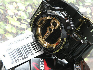 ��CASIO�ۥ�������G-SHOCK��G����å�GD-100GB-1DR����ľ͢����Black×GoldSeries�ۥ֥�å�×������ɥ��꡼���⵱��LED�Хå��饤���դ�(�̳�ƻ�����졦Υ�������̵���оݳ��ϰ�)��smtb-KD�ۡڳڥ���_������
