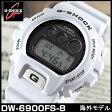 カシオ CASIO Gショック G-SHOCK ジーショック カジュアル メンズ 腕時計時計 DW-6900FS-8 海外 白系グレー グレー系 スラッシャーメンズ 腕時計時計