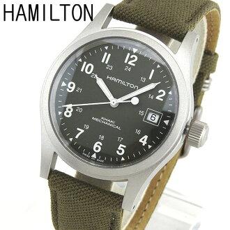 H69419363 hamilton khaki field mechanical men s watch hand wound watch