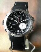 ★送料無料 HAMILTONハミルトン カーキE.T.O Khaki ETO H77612333 スイス製クオーツ クロノグラフ スプリットセコンド搭載 メンズ腕時計 海外モデル