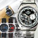 メンズ 腕時計 時計 クロノグラフ 腕時計 カジュアル ウォ...