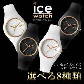 ★送料無料【メーカー2年保証】ice watch アイスウォッチ ice GLAM アイスグラム 選べる8種類♪ レディース メンズ ユニセックス 腕時計 時計 正規品 軽量 ホワイト 白 ブラック 黒 ゴールド