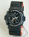 CASIO カシオ G-SHOCK Gショック M-SPEC メンズ 腕時計 時計 AW-591MS-1A 黒 ブラック バリスティックナイロンベルト 海外モデル【楽ギフ_包装】【RCP】【あす楽対応】【あす楽_土曜営業】