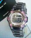 カシオ BABY-G 腕時計 レディース かわいい ベイビーG 時計 ベビーG 海外 モデル BG-3000-8 【円】CASIOカシオBaby-GベビーGReefリーフBG-3000-8グレースケルトン女性用腕時計【BABY-G】レディース 腕時計 女性用 時計 ウォッチ