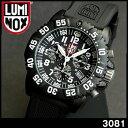 【15日10:00〜エントリーでポイント10倍】【送料無料】LUMINOX ルミノックス3081 クロノグラフ ブラック ミリタリー メンズ 腕時計