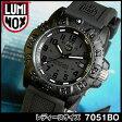 ★送料無料 LUMINOX ルミノックス 7051Blackout Navy SEALs ネイビーシールズ 7051ブラックアウト ラバー ベルト T25表記あり ミリタリー メンズ 腕時計時計