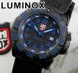 ★送料無料 LUMINOX ルミノックス Navy SEALs ネイビーシールズ 3050シリーズ No.3053 カラーマークシリーズ ブルー 青 ミリタリー ラバー ベルト メンズ 腕時計時計夏物 誕生日 ギフト