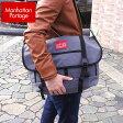 ★送料無料 Manhattan Portage マンハッタンポーテージ メッセンジャーバッグ manhattan-1607gry メンズ 黒 ブラック グレー 並行輸入品父の日 ギフト