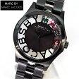 ★送料無料 マーク バイ マーク ジェイコブス MARC BY MARC JACOBS マークバイマーク Henry Skelton ヘンリー スケルトン クリスタルMBM3265海外モデル レディース 腕時計 時計 IPブラック 黒 メタル マルチカラー
