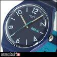 ★送料無料 SWATCH スウォッチ SUON705 NEW GENT ニュージェント BACKUP BLUE バックアップ・ブルー メンズ レディース 腕時計 ブルー ネイビー 青 紺