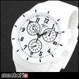 ★送料無料 Swatch スウォッチ SUSW402 海外モデル メンズ 腕時計 シリコン ラバー バンド クロノグラフ クオーツ スポーツ アナログ 白 ホワイト