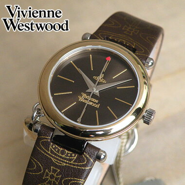 VivienneWestwoodVV006BRBRヴィヴィアン・ウエストウッド【Orb】オーブブラウン×ゴールドレディース腕時計女性用時計ウォッチ【楽ギフ_包装】【smtb-KD】