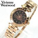 ★送料無料 Vivienne Westwood ヴィヴィアン・ウエストウッド VV092RS 海外モデル レディース 腕時計 ウォッチ ゴールド