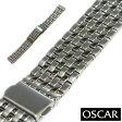 【バンビ】OSCAR(オスカー) メタルブレス シルバー 金属ベルト 時計ベルト02P03Dec16