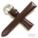 【バンビ】松阪牛 さとり(機械縫い)ダークブラウン 時計ベルト