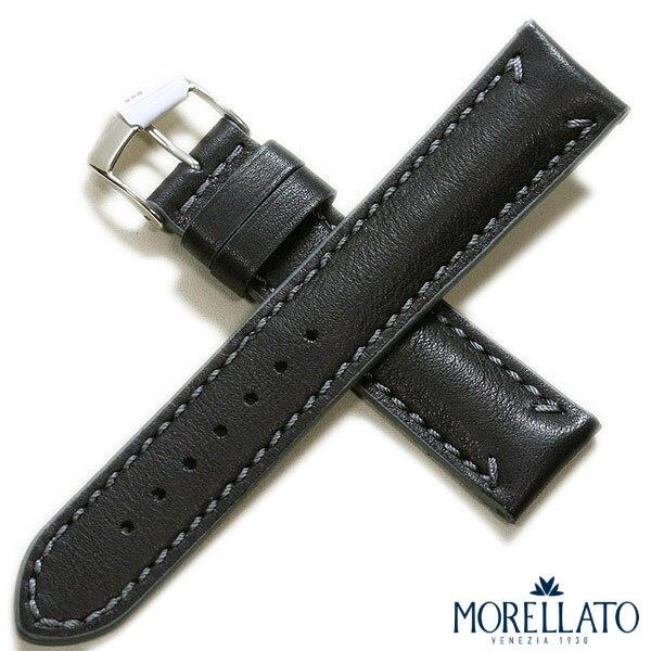 【モレラート】FONTANA(フォンタナ) カーフ ブラック 時計ベルト
