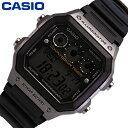 CASIO カシオ STANDARD スタンダード チープカシオ 腕時計 時計 メンズ レディース ユニセックス デジタル ベーシック 定番 スクエア カジュアル レトロ クラシック ラバー 樹脂 人気 軽量 AE-1300WH-8A プレゼント ギフト 1年保証 送料無料
