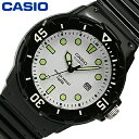 CASIO カシオ STANDARD スタンダード チープカシオ 腕時計 時計 レディース アナログ ベーシック 定番 ラウンド カジュアル 軽量 小ぶり シンプル ラバー 樹脂 防水 ホワイト 白 LRW-200H-7E1 プレゼント ギフト 1年保証